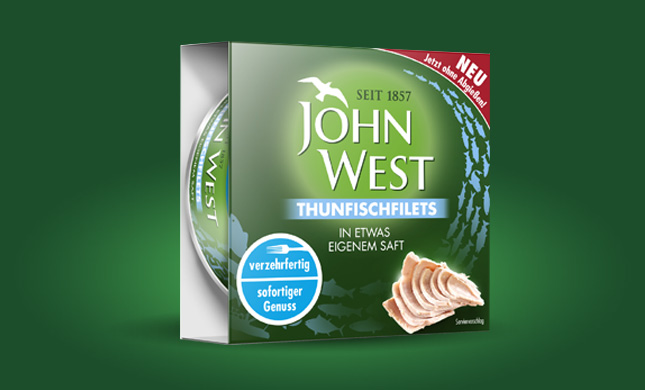 Thunfischfilets ohne Abgiessen in etwas eigenem Saft (130g)