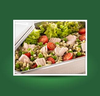 Thunfisch-, Pesto- und Kartoffelsalat PROBIEREN